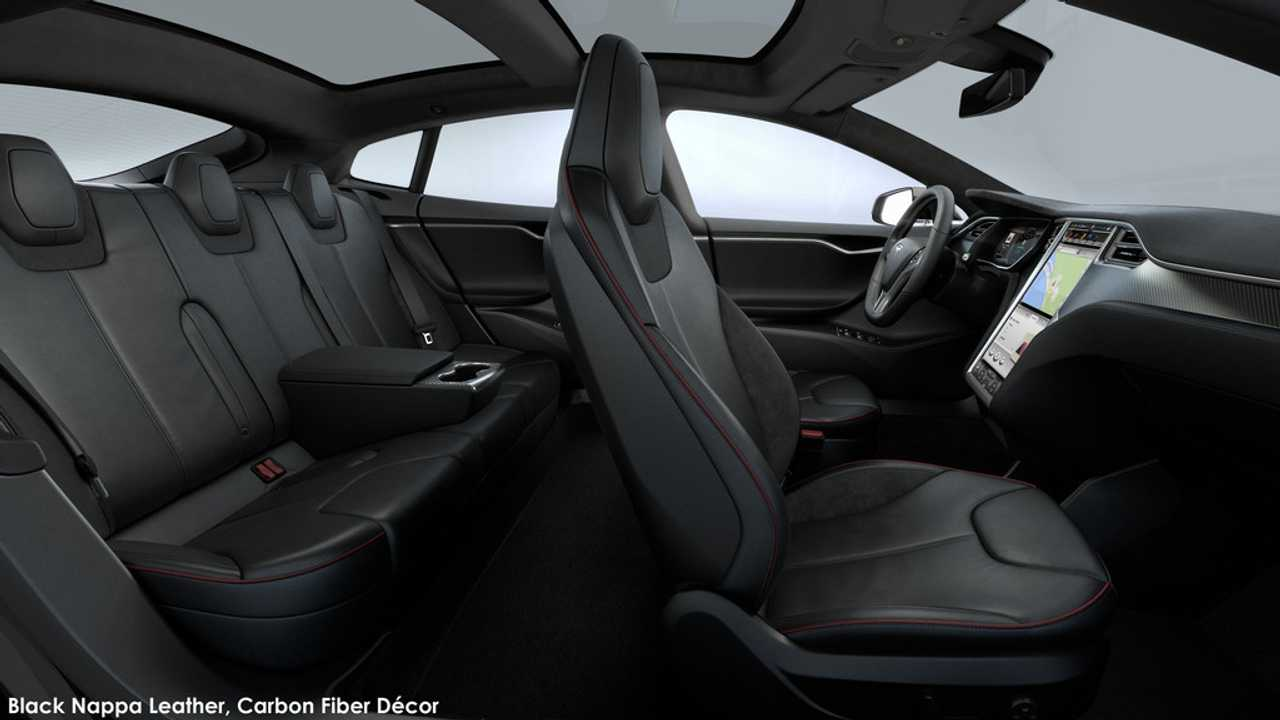 Tesla Model S Premium Rear Console Image Motors