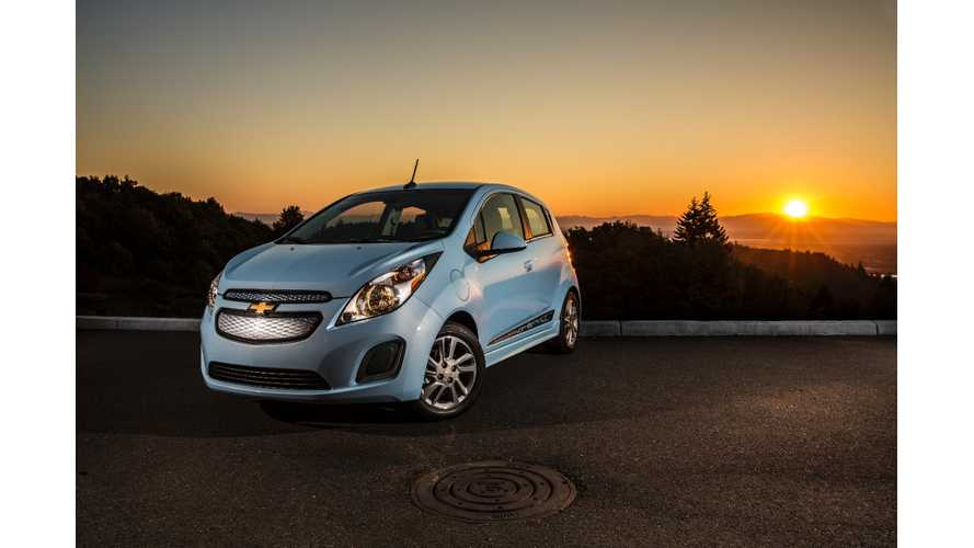 2016 Chevrolet Spark Ev To Be Available In Ontario Quebec And
