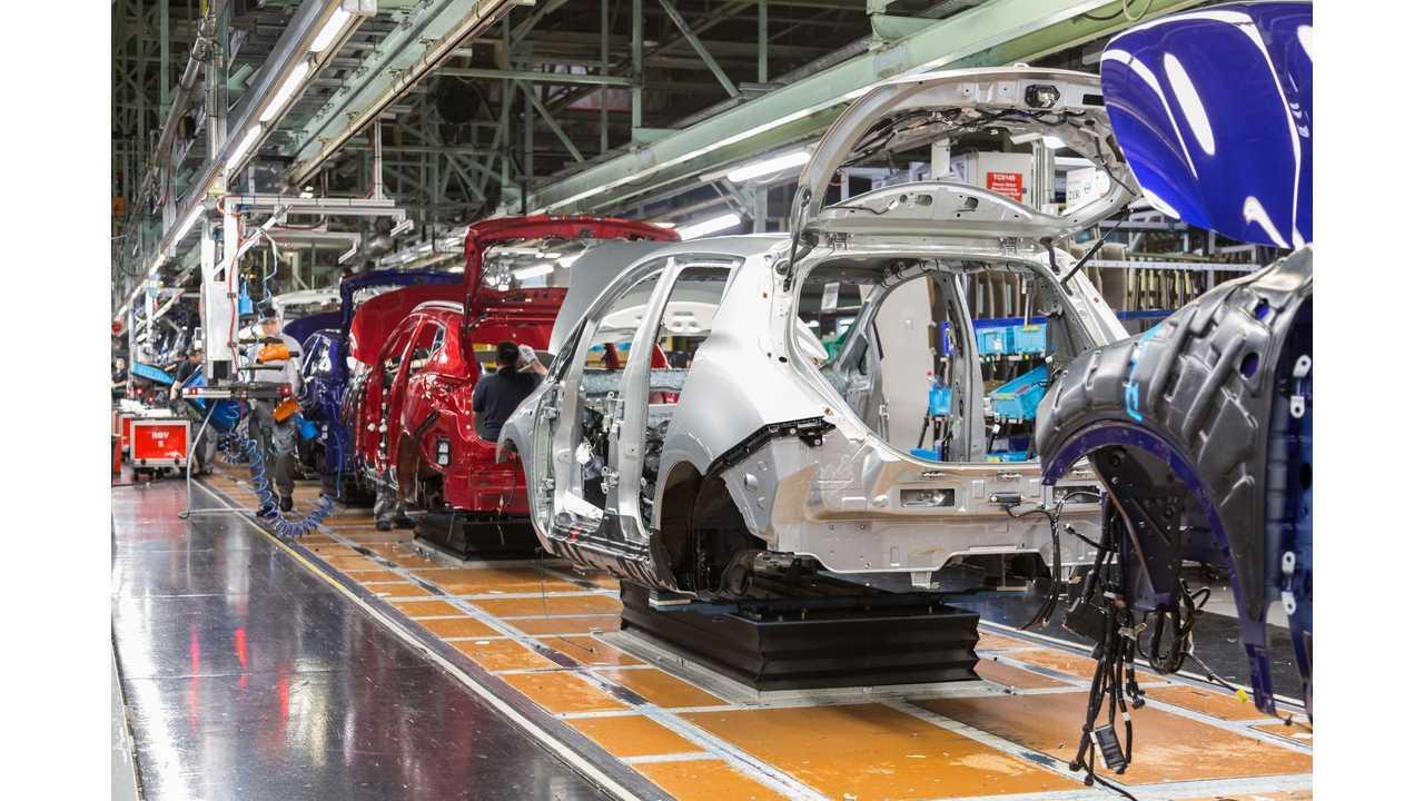 Nissan Celebrates 50,000th LEAF Produced In UK