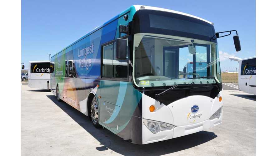 Australian Airport To Test World's Longest Range Electric Bus