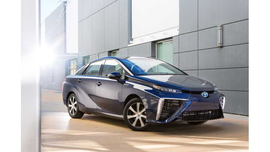 Toyota To Triple Mirai FCV Production Capacity In Response To Strong Demand