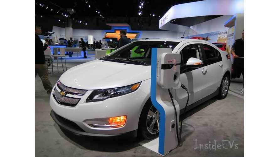 Cadillac ELR, Chevy Volt, Chevy Spark EV - Live Images From 2014 LA Auto Show