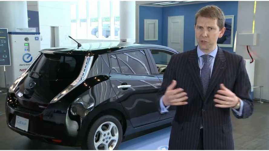 "Nissan's Andy Palmer: The Hybrid Solution ""Doesn't Work"""