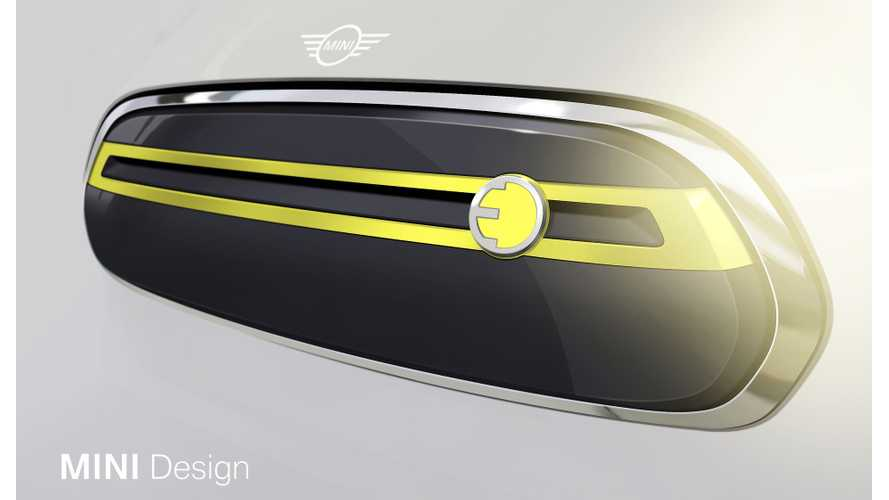 MINI Shows Design Sketches Of Upcoming Electric Production Model