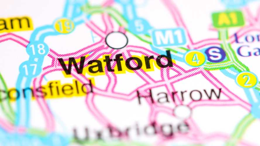 Drivers in Watford are UK's most accident-prone