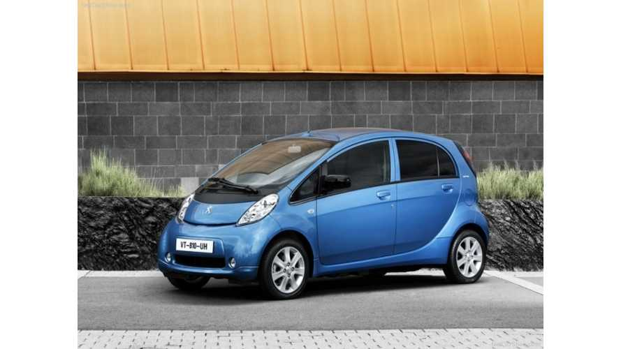 Peugeot Halts Sales Of iOn In Netherlands Due To Weak Sales