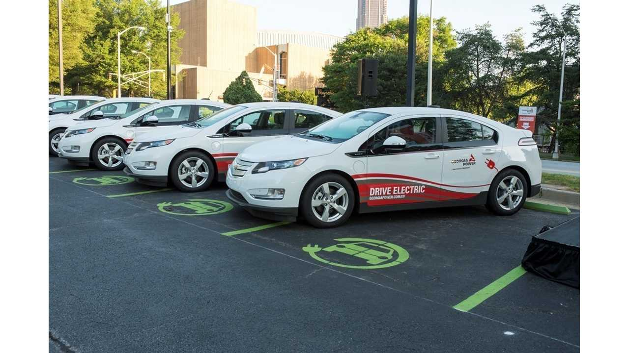 Georgia Power Now Has Fleet Of Chevrolet Volts