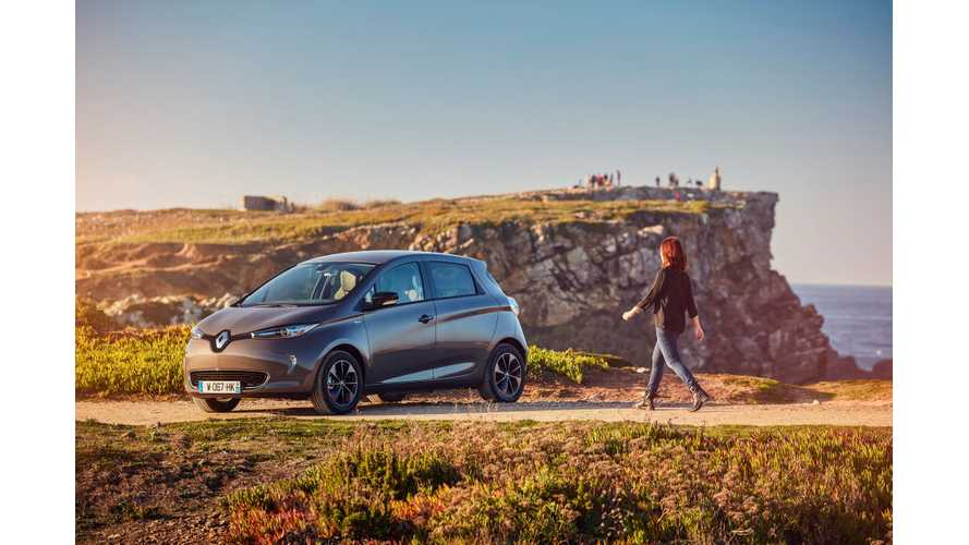 New Renault ZOE Pulls EV Market In France Up To 3,000 Sales In January
