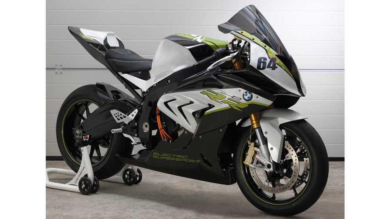 BMW Unveils S1000RR Electric Super Bike: