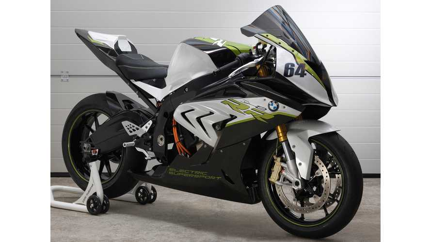 BMW Unveils S1000RR Electric Super Bike: