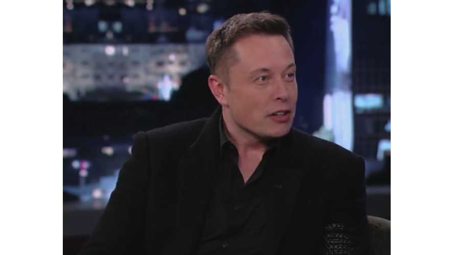 Tesla CEO Elon Musk Talks Up A Self-Driving Transportation Solution For Dense Areas, But