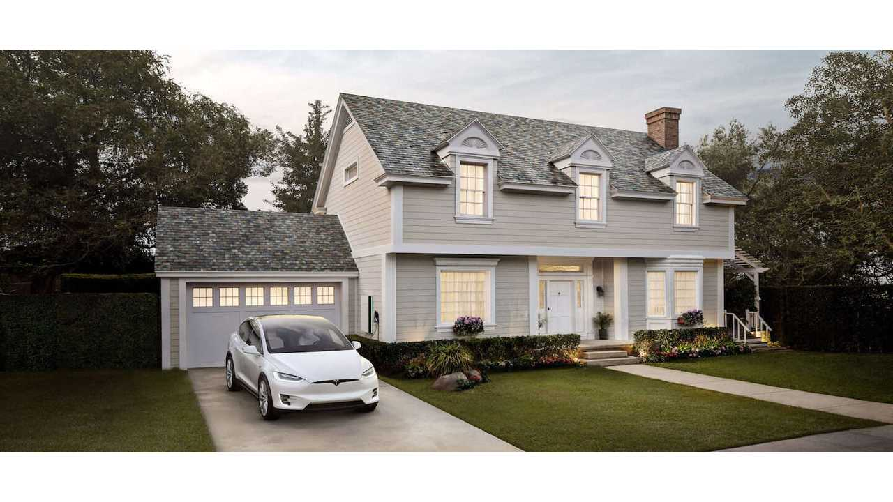 <em>Tesla Solar Roof in Slate</em>