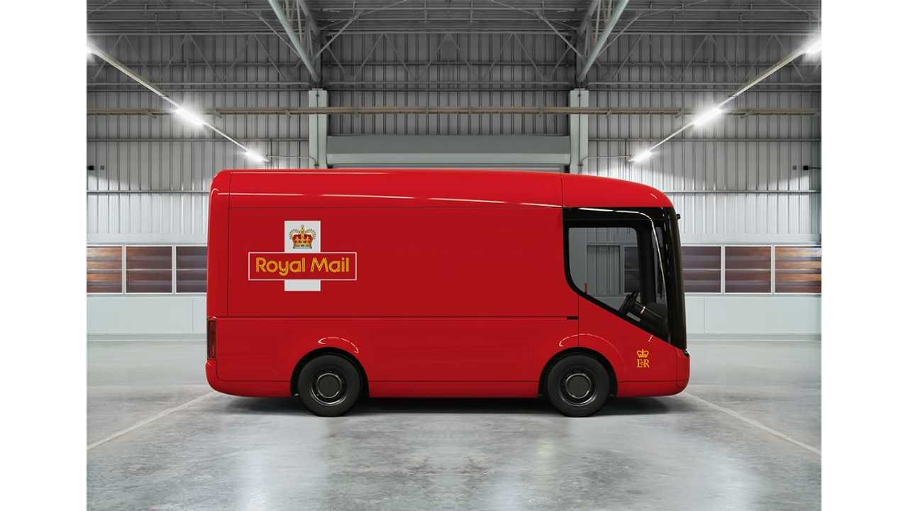 Royal Mail's electric vehicle