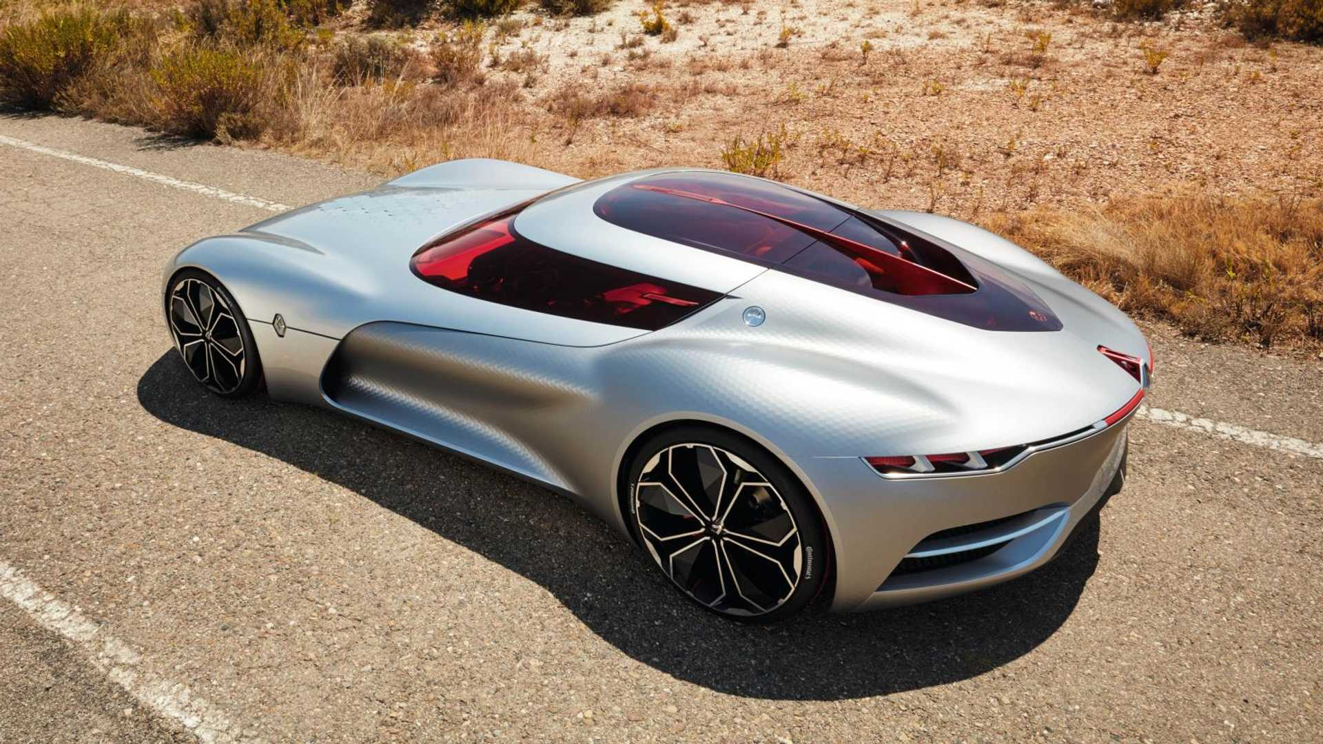 Electric Renault Trezor Wins Concept Car Design Of The Year Award