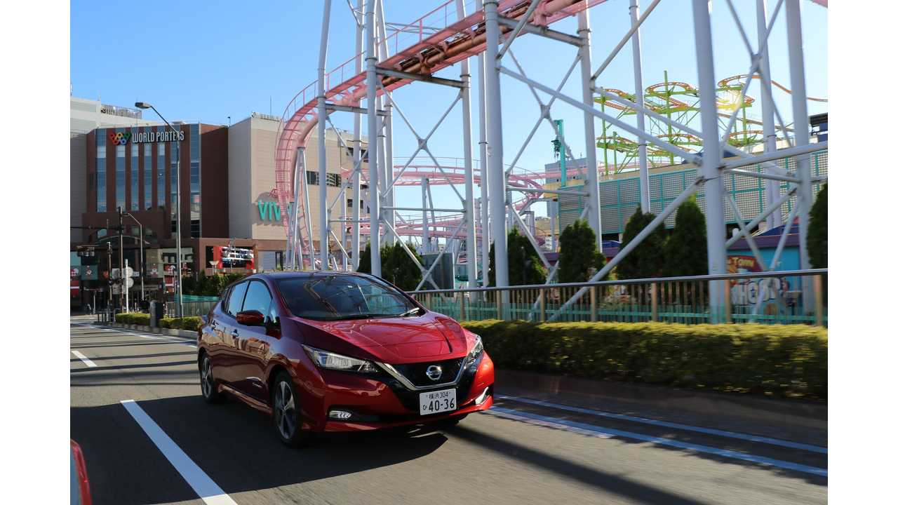 In April, Nissan Sold Less Than 1,000 LEAFs In Japan