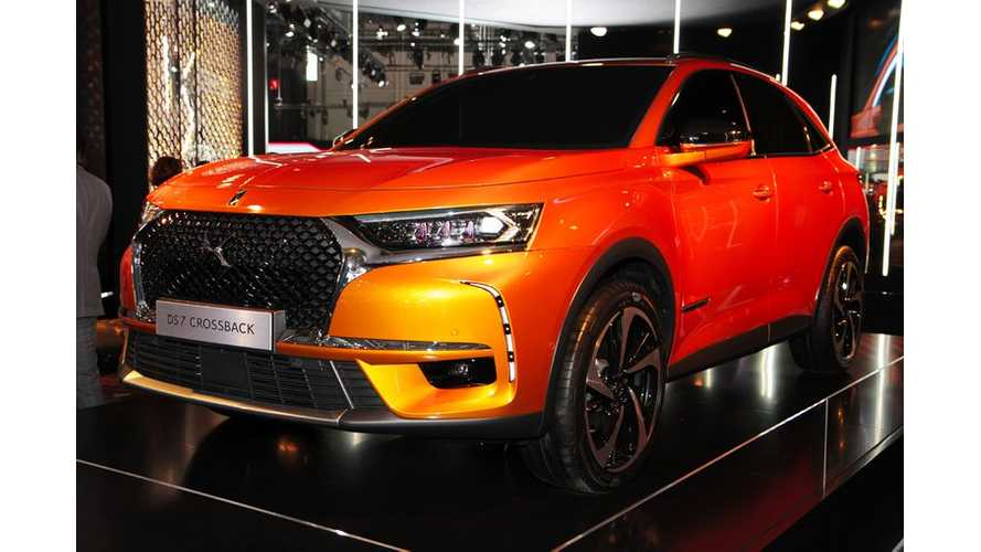 DS 7 Crossback At Geneva - Images & Videos