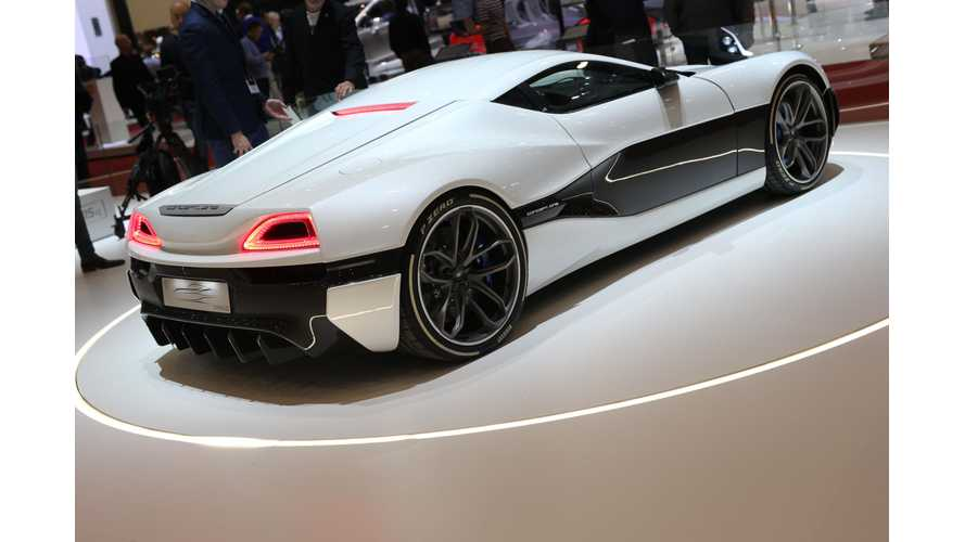 Upgraded Rimac Concept_One Debuts In Geneva (Photos & Videos)