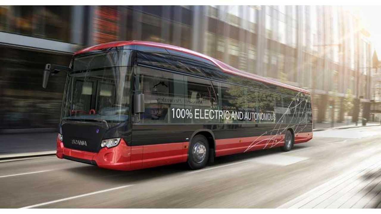 Scania And Nobina Announce Autonomous EV Bus Trials In Sweden
