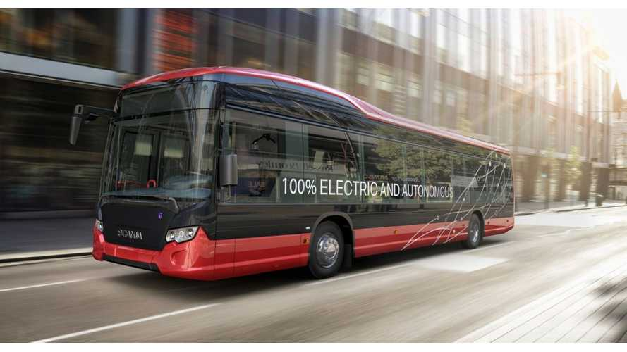 Scania And Nobina Announce Autonomous EV Bus Trials In Sweden