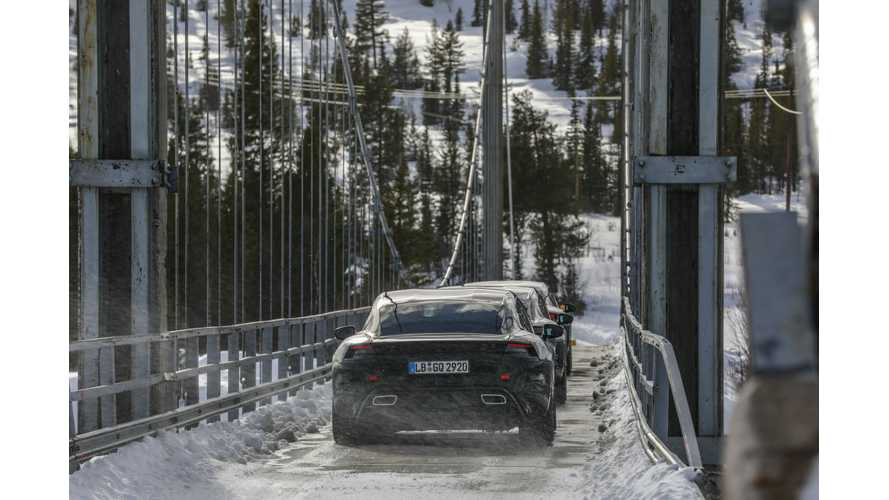 Porsche Taycan Is Completing Its Final Test Drives: Videos