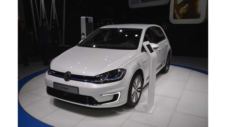 New 2017 Volkswagen e-Golf With Higher Range Tested By Autogefühl - Video