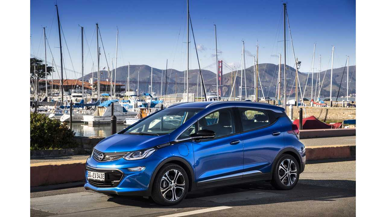 Europe (Norway) Receives First Deliveries Of The Opel Ampera-E
