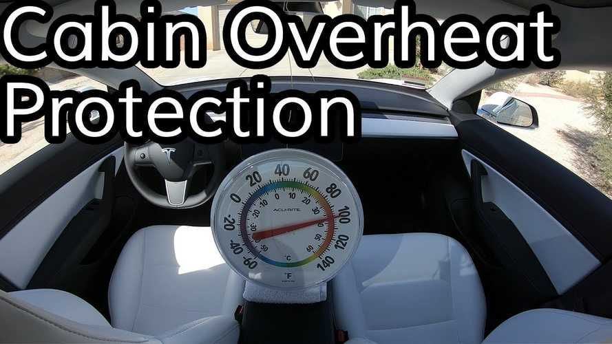How Much Does Cabin Overheat Protection Impact Tesla Model 3 Range?