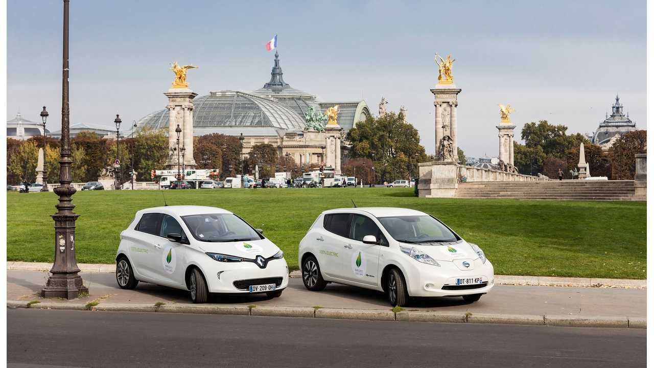 Renault-Nissan Alliance Sold More Than 274,000 EVs