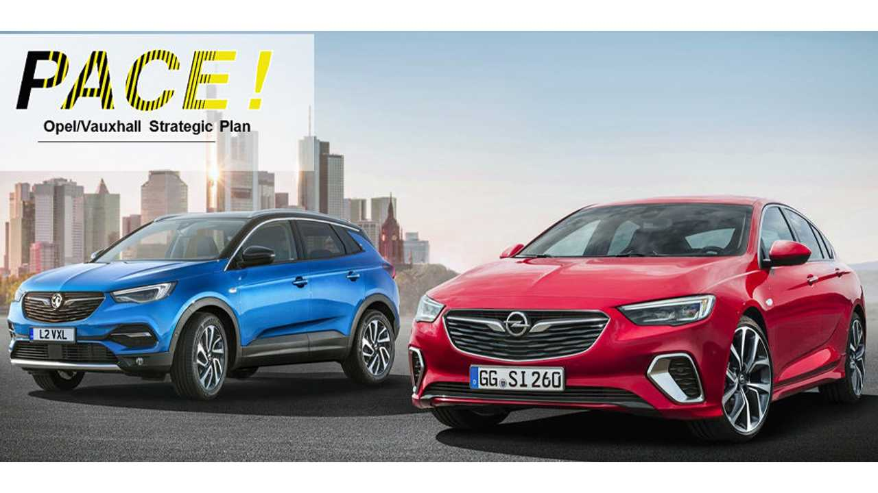 Opel/Vauxhall Go Profitable, Electric and Global with PACE! strategic plan