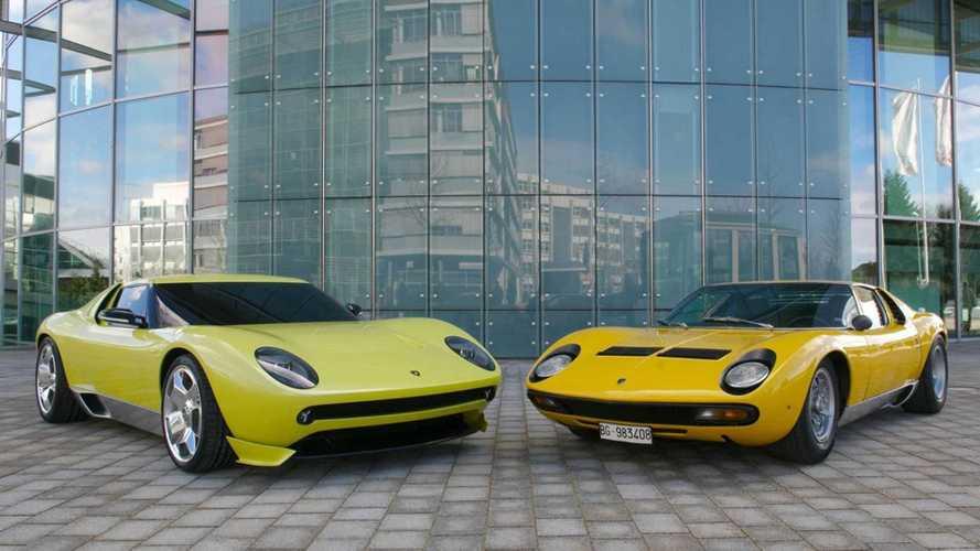 Lamborghini Miura Concept, a 40 anni la seconda vita