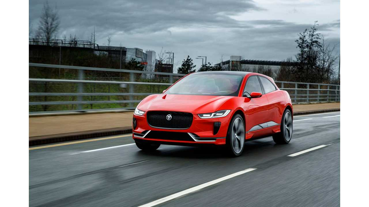 Jaguar Will Commit Millions Into Charging Infrastructure To Support I-Pace