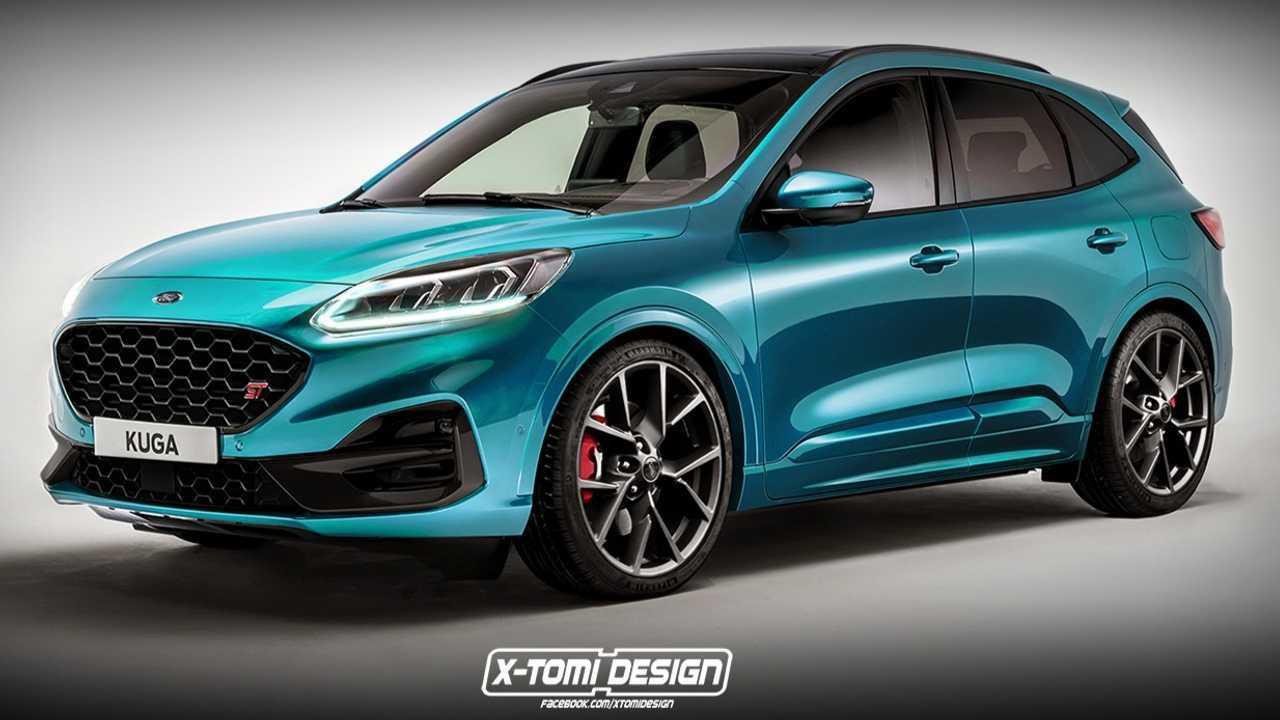 2020 Ford Kuga / Escape ST render