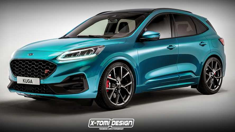 Ford Kuga ST render has us excited about car-less future