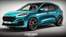 ford kuga st 2020 rendering