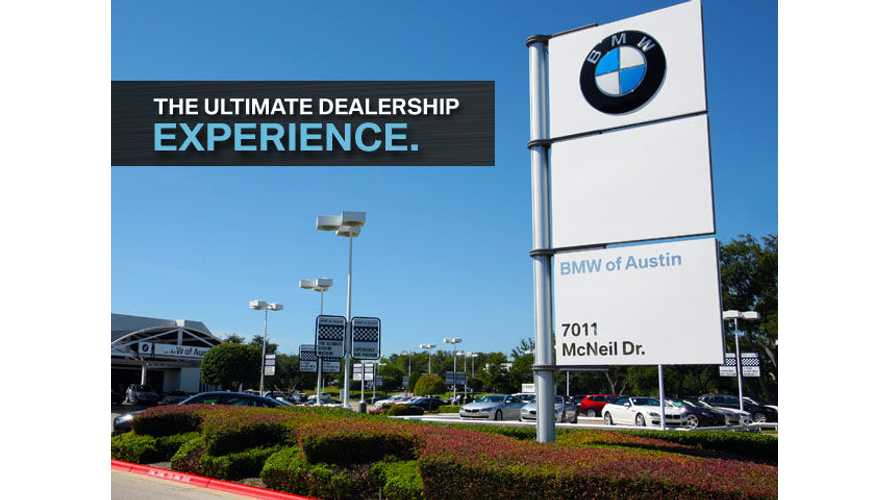 BMW's U.S. Dealership Chairman Comments On i3, i8