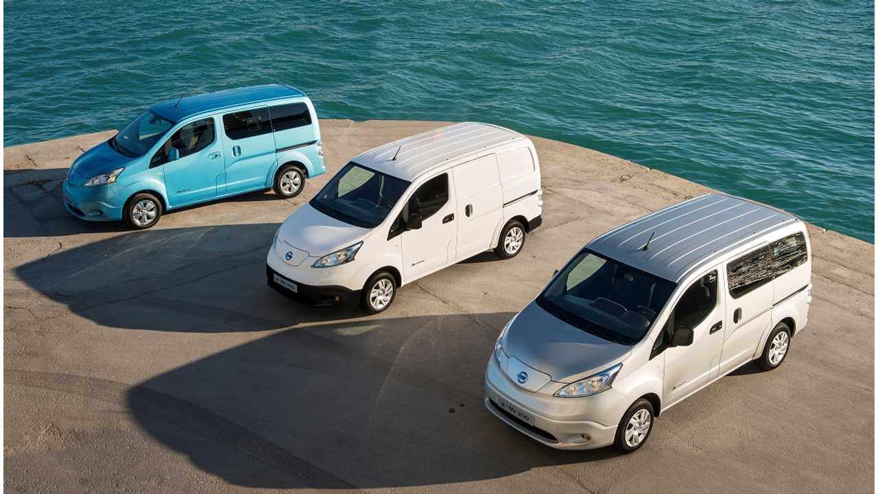 Nissan e-NV200 Wins One More Prestigious Award