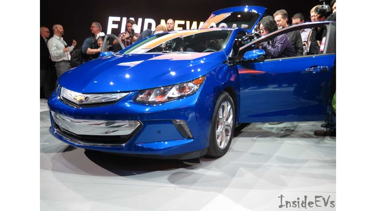 2016 Chevrolet Volt Arrives In Second Half Of 2015 (Photo: Tom Moloughney/InsideEVs)