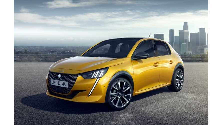 All-New 2019 Peugeot e-208 Revealed With 211-Mile Range
