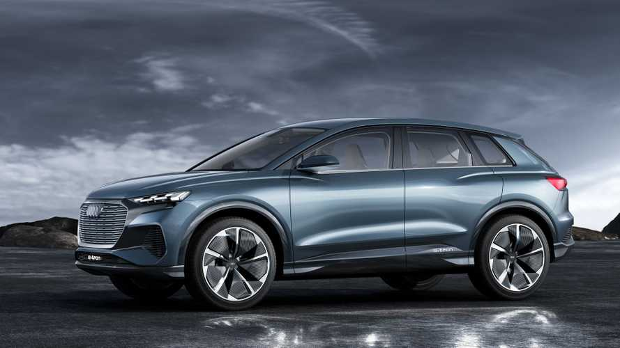 Audi Q4 E-Tron Concept Debuts In Geneva With 82 kWh Battery