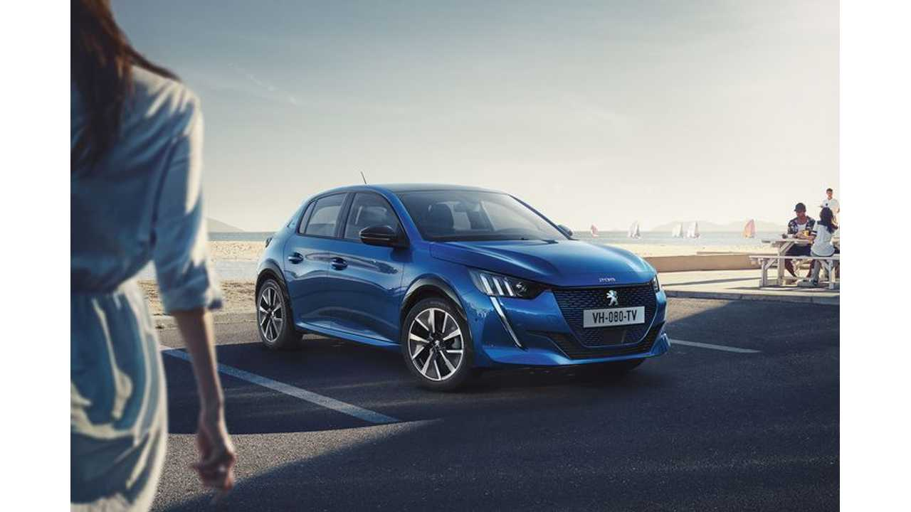 First Leaked Images Of Peugeot e208 Electric Car Slip Out