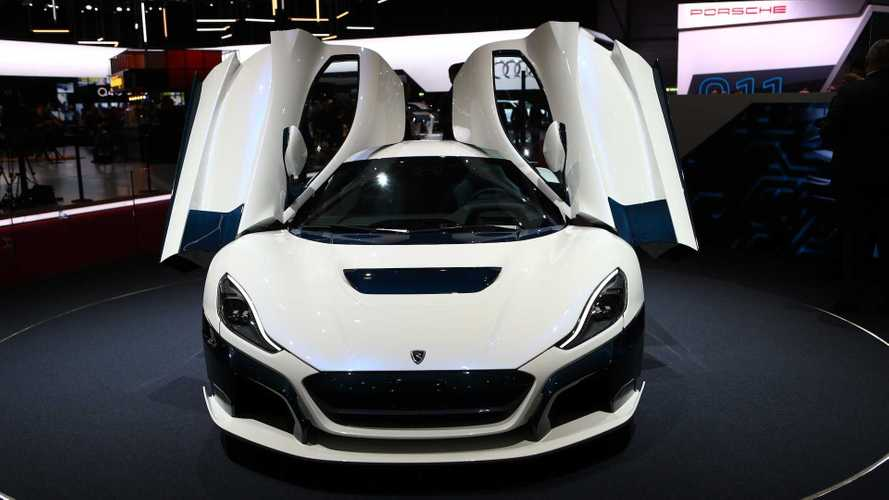Rimac C_Two Arrives In Geneva In Flashy New Hues