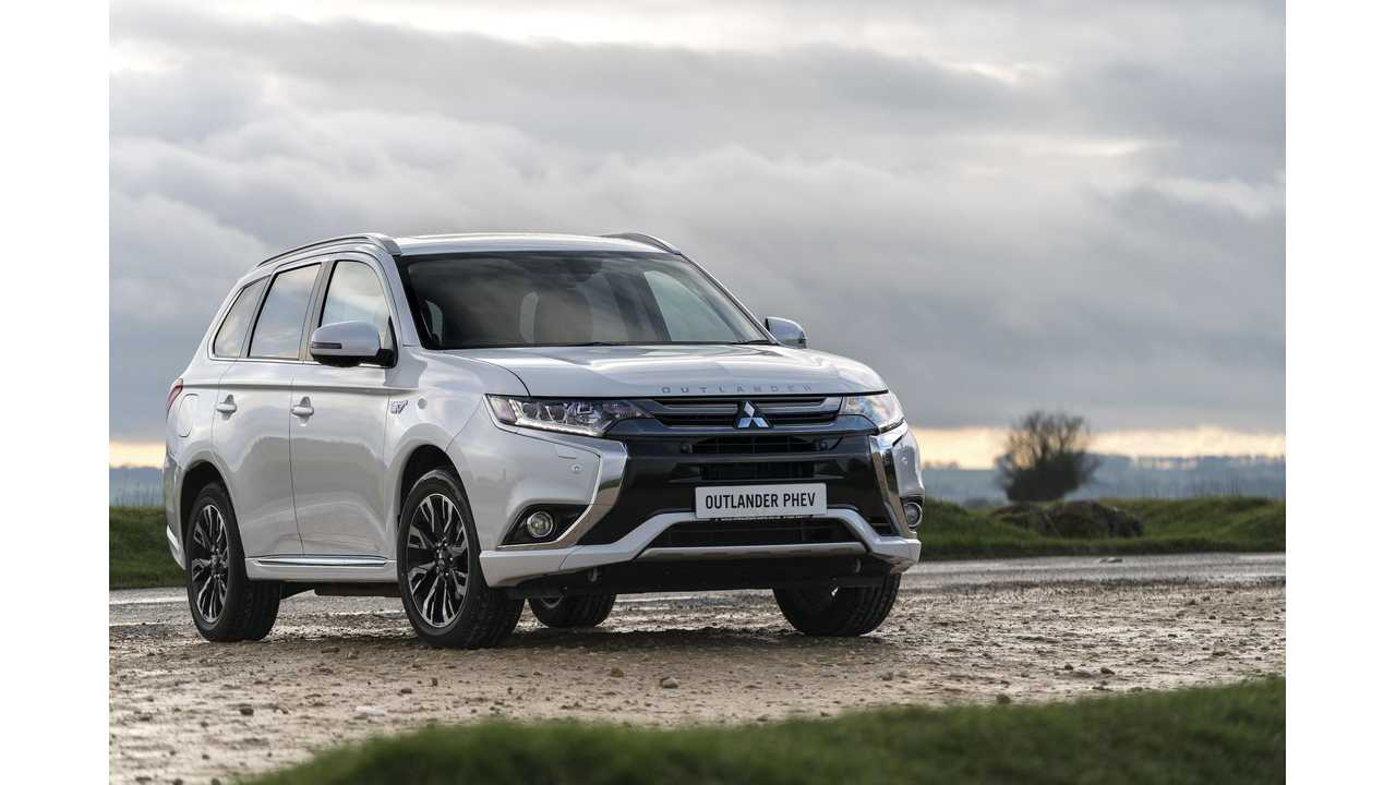 Mitsubishi Sold Over 21,000 Outlander PHEVs In Two Years In the United Kingdom
