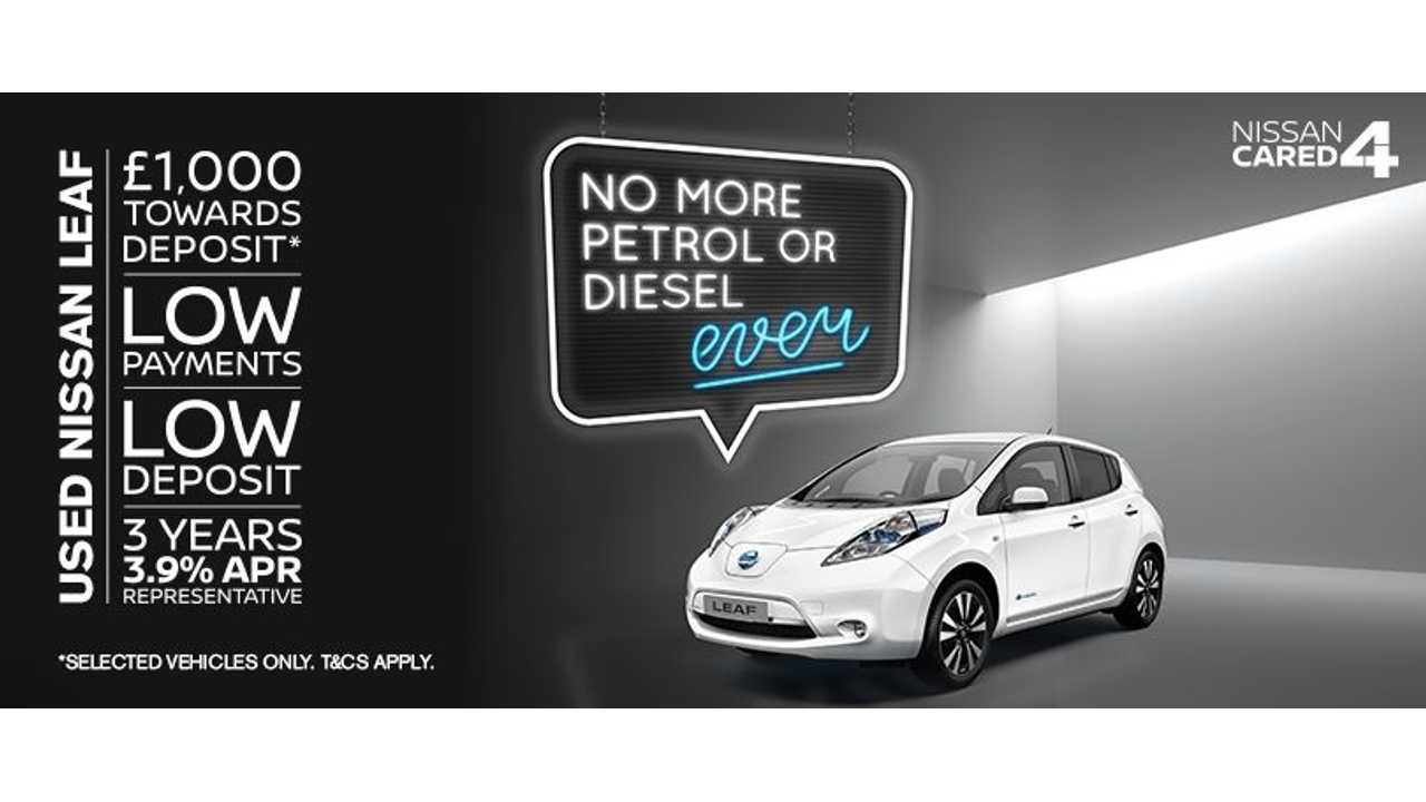 Nissan Launches Used LEAF Campaign In UK To Move Metal