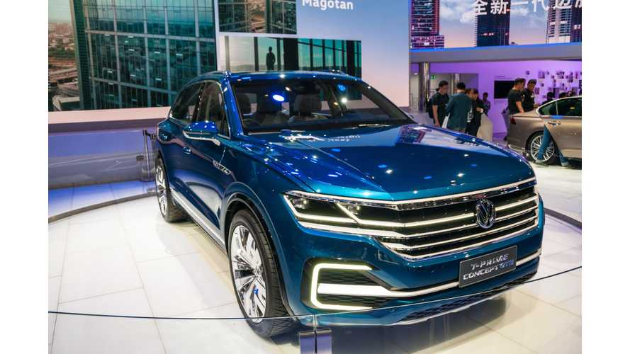 Volkswagen T-Prime Concept GTE Detailed Walkthrough - Video