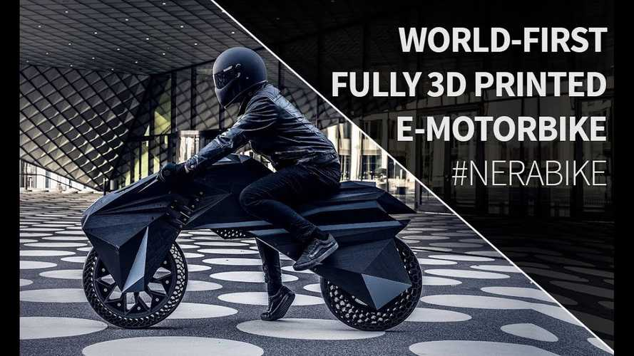 You Can 3D Print Anything, Even An Electric Motorcycle