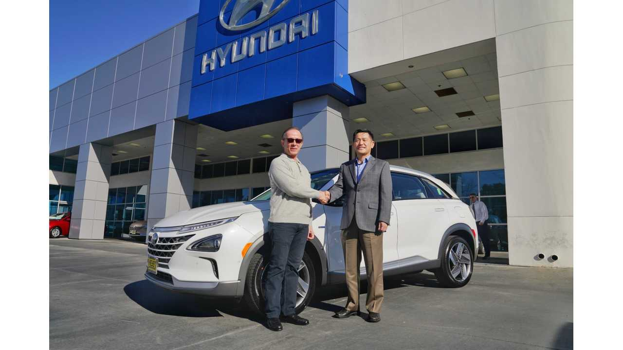 Hyundai Delivers First Nexo Fuel Cell SUV In U.S.