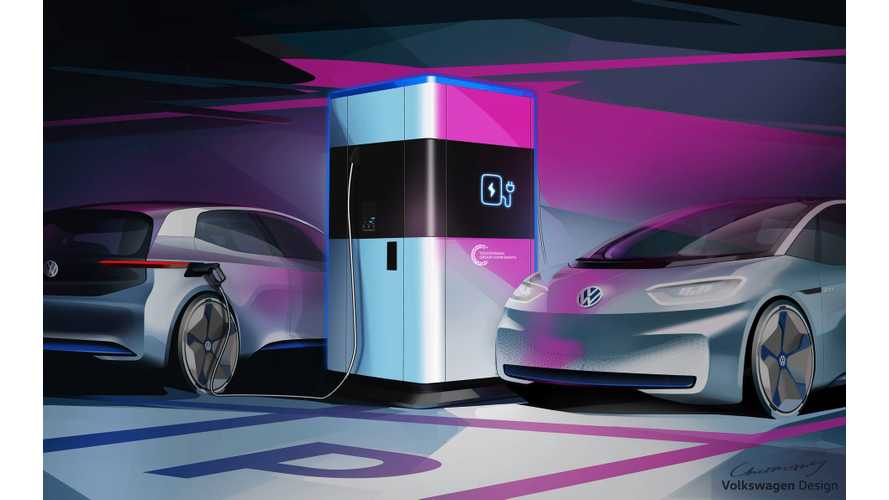 VW Unveils New 360-kWh Mobile Charging Station