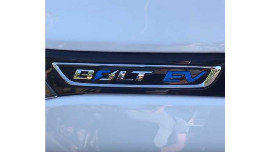 Amateur Video Provides Us With A Detailed Look At The 2017 Chevrolet Bolt EV