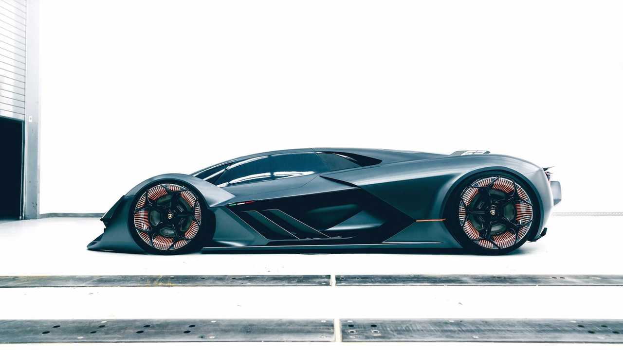 - Lamborghini and Audi may also share the new Porsche platform for electric supercars