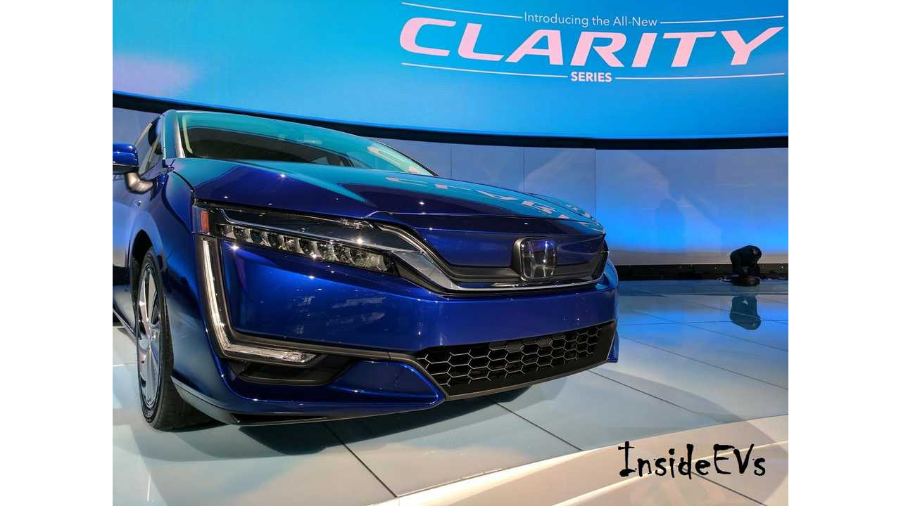 Honda Clarity Electric EPA Range Ratings In Detail - Less Than 80 Miles Highway